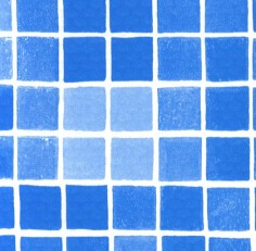 Пленка с рисунком «Мозаика неразмытая» ширина 1,65 м Alkorplan Byzance Blue