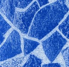 Пленка с рисунком «Синий мрамор» ширина 1,65 м Alkorplan Carrara