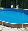 Бассейн Azuro овальный 404DL, 5,5х3,7х1,2 м (песочный фильтр)
