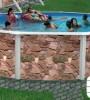 Бассейн Torrente круглый Rocalla размер 3,5х1,25 м