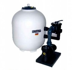 Фильтровальная установка Behncke Cristall 750 мм, бок. подсоед. 1 1/2″, 20 куб.м/ч