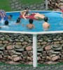 Бассейн Torrente круглый Muro размер 3,5х1,25 м