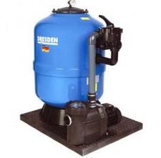 Фильтровальная установка Behncke Cristall 400 мм, бок. подсоед. 1 1/2″, 6 куб.м/ч