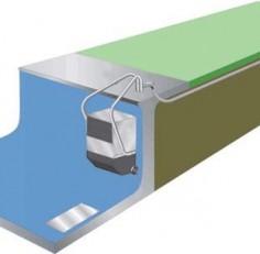 Противоток навесной Fastlane до 1140 м3/ч 3,75 кВт, 220В (акрил, темно-синий)