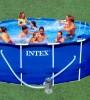 Бассейн INTEX круглый Metal Frame 366х76 см (фильтр)