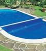 Покрывало плавающее Azuro для бассейна 5,5×3,7 м (овал)