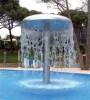 Водопад Гриб стойка (труба) Flexinox д.154 мм