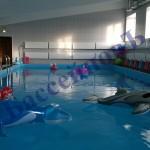 школьный пленочный бассейн
